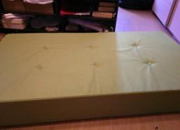 Подушки из поролона с утягивающими пуговицами