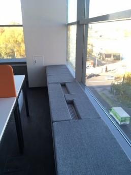 Поролоновые подушки - Тетрис, для бизнес центра Транзас
