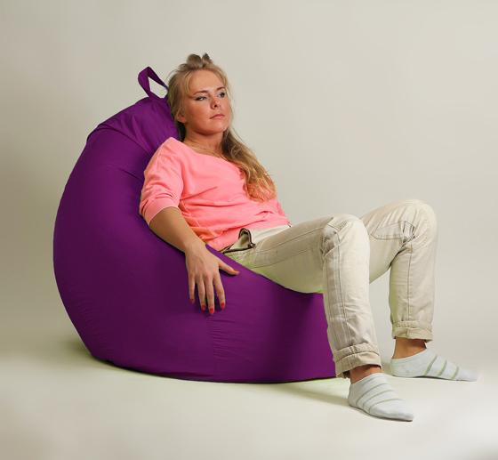 Кресло мешок груша XXL Стандарт Фуксия