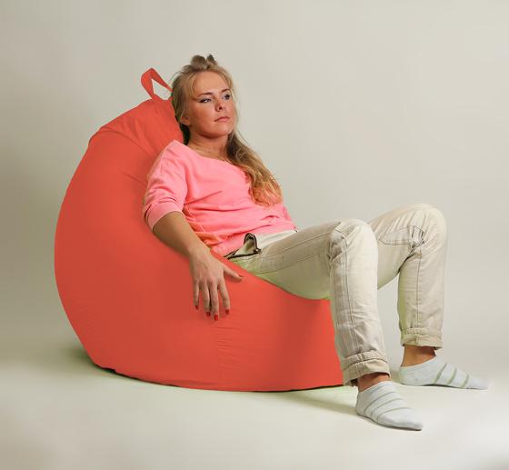 Кресло груша XXL стандарт коралл