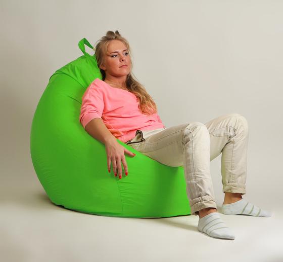 Кресло груша XXL стандарт салатовое