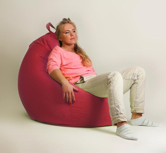 Кресло груша XXL стандарт красное