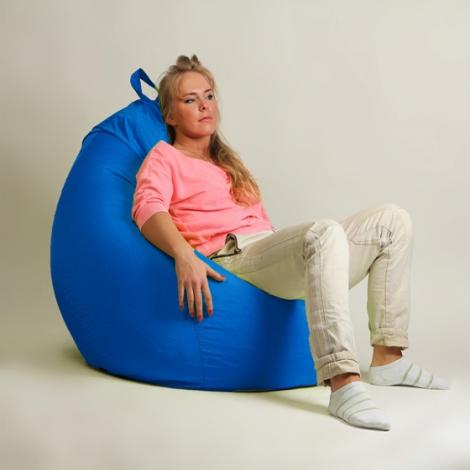 Кресло груша XXL стандарт синее