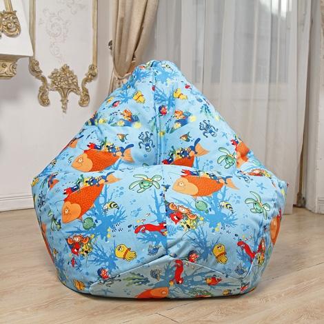 Кресло мешок Груша XXL Аква 1