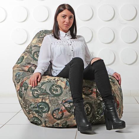 """Кресло мешок Груша XXL """"Bikeres 06"""""""