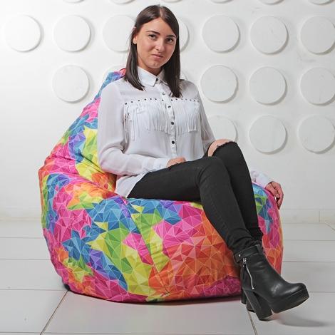 "Кресло мешок Груша XXL ""Cristal 03"""