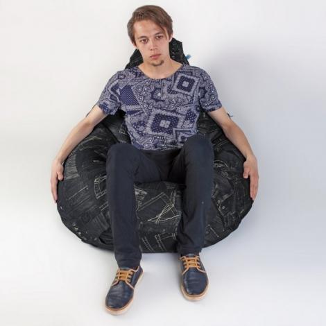 Кресло груша XXL Дэним 4