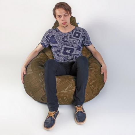 Кресло груша XXL Дэним 5