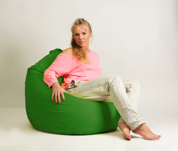 Кресло мешок груша Стандарт Зеленая