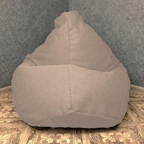 Кресло мешок груша XXL Рогожка Infinity Cream