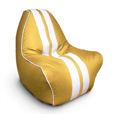 """Кресло мешок """"Ферарри"""" желтое"""