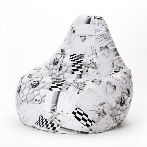 Кресло груша XXL Лавли
