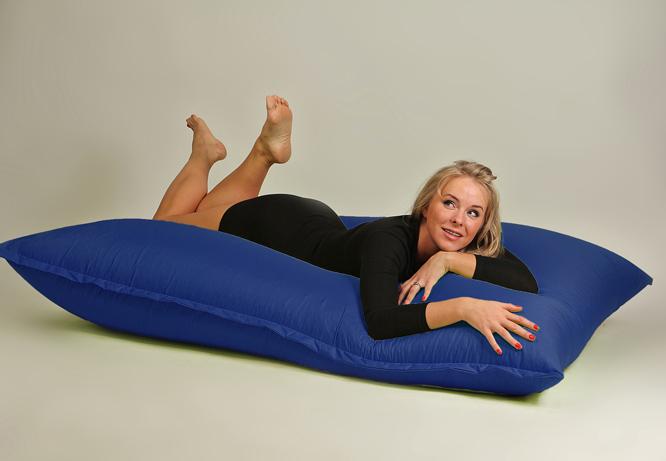 Бескаркасная мебель - мат синий