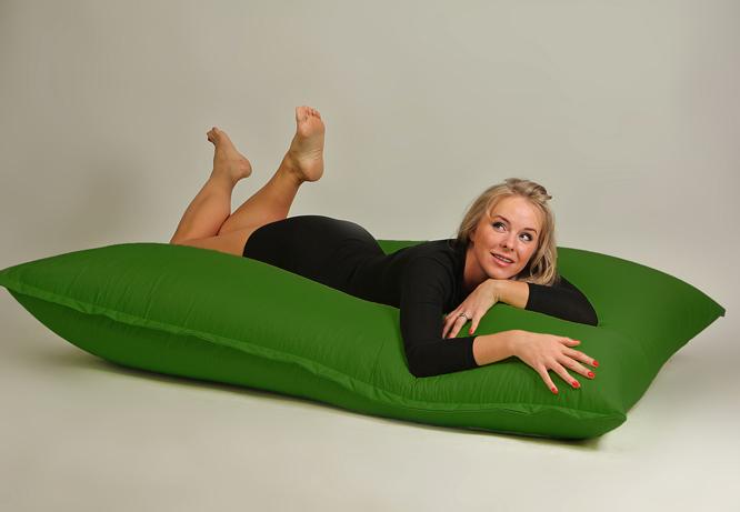 Бескаркасная мебель - мат зеленый
