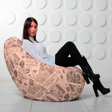 """Кресло мешок Груша XXL """"Money 02"""""""
