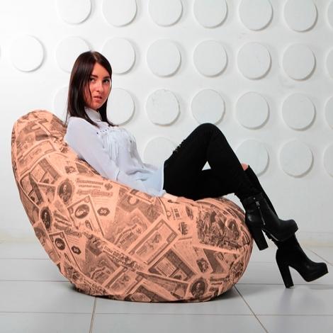 """Кресло мешок Груша XXL """"Money 08"""""""
