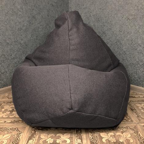 Кресло мешок груша XXL Рогожка Sigmund 11