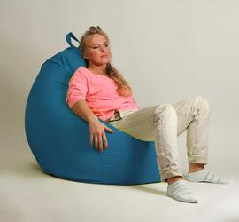 Кресло мешок груша  XXL Стандарт Бирюза