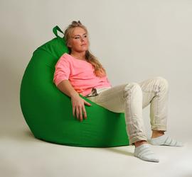 "Кресло мешок ""Груша"" XXL стандарт зеленое"