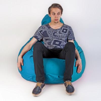 Кресло мешок груша XXL Energy Azure