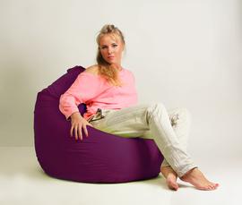 Кресло мешок груша Стандарт Фуксия