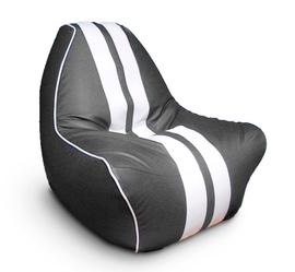 """Кресло мешок """"Ферарри"""" серое"""