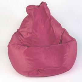 Кресло мешок груша XXL Hawai Malina