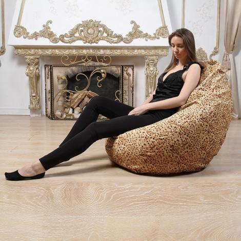 """Кресло мешок Груша """"XXL Леопард 1"""""""