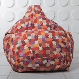 """Кресло мешок Груша XXL """"Puzzle 02"""""""