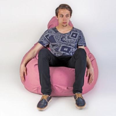 Кресло мешок груша XXL Energy Rose