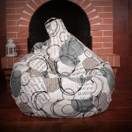 Кресло груша XXL Блэк 1