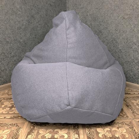 Кресло мешок груша XXL Рогожка Sigmund 9