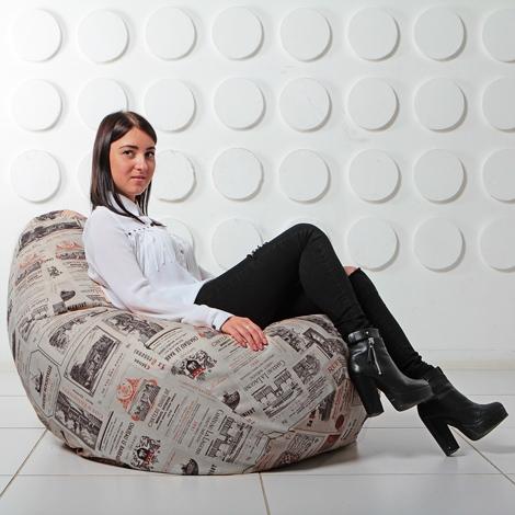 """Кресло мешок Груша XXL """"Vinum 03"""""""